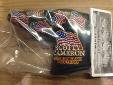 Limited edition Scotty Cameron 2016 US Flags US Open Putter Headcover
