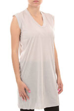 Rick Owens New Woman sleeveless T-shirt Sweater Pearl RP 6102/JR Special offer