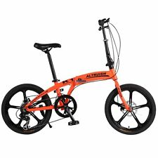 Altruism K1 Folding Bicycles 7 Speed 20inch Aluminum Mountain Bike Kid's Bicycle