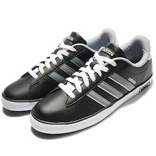 adidas Neo Label Derby Vulc Black White Grey Mens Casual Shoes Sneakers AW4631