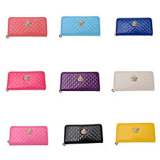 HOT Crown Handbag Purse Lady Women Zipper Bag Clutch Long PU Leather Wallet MZX0