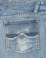 TAG SZ 34 MENS Italy DIESEL INDUSTRY Zaf 796 Button Fly JEANS Actual 36X34