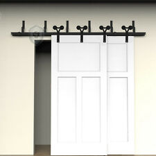 5FT Bypass Y shaped sliding track barn door hardware NEW style for bedroom