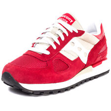 Saucony Shadow Original Mens Trainers Red White New Shoes