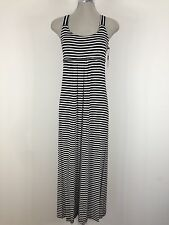Calvin Klein NWT Black/White Gorgeous Baby Doll Style Maxi Summer Dress