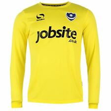 Sondico Portsmouth FC Goalkeeper Away Jersey 2015 2016 Juniors Yellow Shirt Top