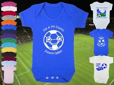 WIGAN ATHLETIC Football BABYGROW/Vest/Bodysuit/Romper-Boy/Girl-Personalised Gift