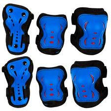 SFR Essential Kids Triple Pad Set Blue/Black