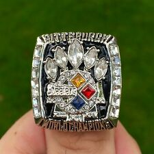 2005 Pittsburgh Steelers Hines Ward Championship Ring Super Bowl size 11 men