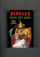W. E. JOHNS  Biggles Gets His Men - 1st edition 1950 in dustwrapper NICE!