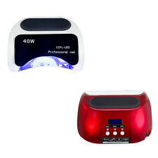 Pro 48W CCFL LED LCD UV Nail Lamp Gel Curing Dryer Auto Light Timer Curing Tools