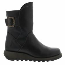Fly London Sien 571 Rug Black Womens Boots