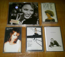 KYLIE MINOGUE -LOT 5 INDONESIA CASSETTE&CD FREE SHIPPING! madonna britney spears