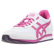 Asics Onitsuka Tiger Sakurada Womens Trainers White Fuschia New Shoes