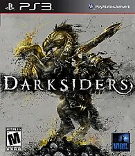 DARKSIDERS GREATEST HITS (Sony PlayStation 3, 2010) GAME - COMPLETE! GH