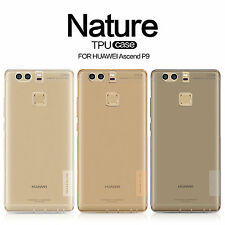 HUAWEI Ascend P9 Nillkin Ultra Thin Nature Clear TPU Silicone Soft Case Cover