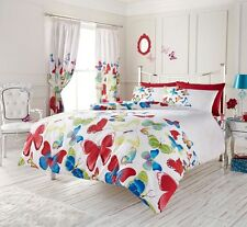 Modern Butterfly Duvet Cover Floral Bedding Set – Single, Double, King, Super...