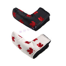Canada Flag Red Maple Leaf Putter Head Cover Headcovers For Scotty Cameron Ping