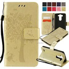 mobile phone PU leather wallet flip case protective skins Magnetic stand cover