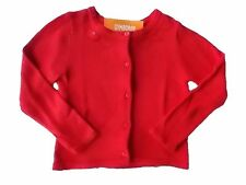 NWT Girl's Gymboree Valentine's Day red heart button up sweater cardigan 3 4 5 6