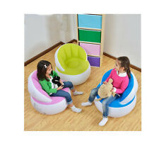 Lovely Durable Children's Inflatable Sofa Cackrest Kids Sofa Leisure Chair New