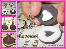 2pcs Oreo BF Cream Hearts fit together Fake Food Key Ring Best Friends USA MADE