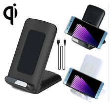 3-Coils Qi Wireless Charger Stand Dock for Samsung Galaxy NOTE 7 S6 S7 Edge Plus