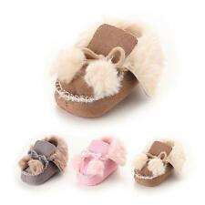 Newborn To 18 Month Baby Warm Shoes Winter Cotton Crib First Walker Thick Shoes