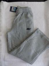 Nike Youth Boys Brushed Fleece Sweatpants 801641 Heather Gray/Blk Various Sizes