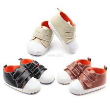 Kid Baby Boy Girl Child Infant Fashion Anti-slip Soft Sole PU Crib Sneaker Shoes