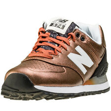New Balance Wl574 Womens Trainers Copper New Shoes