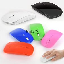 2.4GHz Slim 1600 Dpi Optical Mouse USB Receiver Wireless Mice for PC Laptop 8HOT