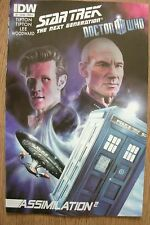 STAR TREK NEXT GENERATION / DOCTOR WHO - Assimilation 2 - Issue #1 - IDW COMICS