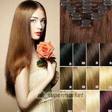Hot Luxurious Smooth Remy Real Human Hair Weft Clip In Human Hair Extensions hyp
