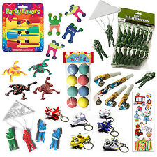100 x Assorted BOYS Army Children's Party Goody Bag Fillers Loot Toys Favor