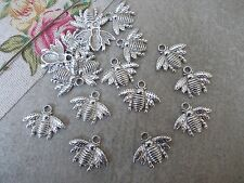 20 x Bee Silver Tibetan Metal Charms,Pendant, Bumble bee, Jewellery