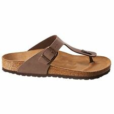 Birkenstock Gizeh Mocca Womens Sandals Beach Summer
