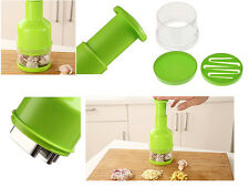 Pressing Vegetable Garlic Onion Food Kitchen Slicer Peeler Chopper Cutter Dicer