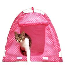 Dog Cat Tent Puppy Kitten House Foldable Pet Kennel Nest Indoor Outdoor Hot Sale