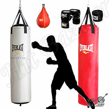 Boxing Punching Bag Gloves Speed Training Home Gym Fitness Equipment Workout Kit