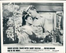 Man In Middle Robert Mitchum France Nuyen Lobby Card