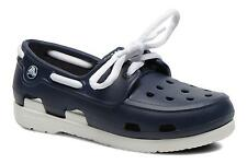 Kids's Crocs BeachLineBoatShoeLacePS Boat shoes Lace-up Shoes in Blue