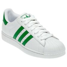 Adidas Originals Superstar 2 II W Men's Trainers Shoes Oversize White Green