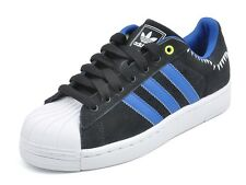ADIDAS ORIGINALS SUPERSTAR II 2 LITE TEETH TRAINERS SHOES M20909 BLACK 40