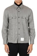 THOM BROWNE Man Wool Shirt with Front Pockets New with tags and Original