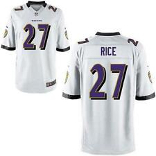Ray Rice Baltimore Ravens #27 NFL Youth 8-20 On Field Team Jersey White New