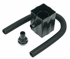 FloPlast Rain Water Diverter Black Water Saver Butt Fits Square & Round Pipes