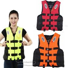 Adult Swimming Life Jacket Vest PFD 4 Colors Fully Enclosed L XL XXL XXXL