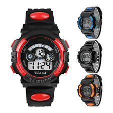 Waterproof Mens Digital LED Quartz Alarm Date Sports Wrist Watch Watches