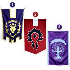 For World Of Warcraft Alliance/Horde Triangle Flags Online Game Wild Tribe